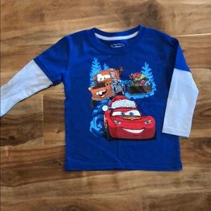 4 for $12 Disney Pixar cars long sleeve t-shirt